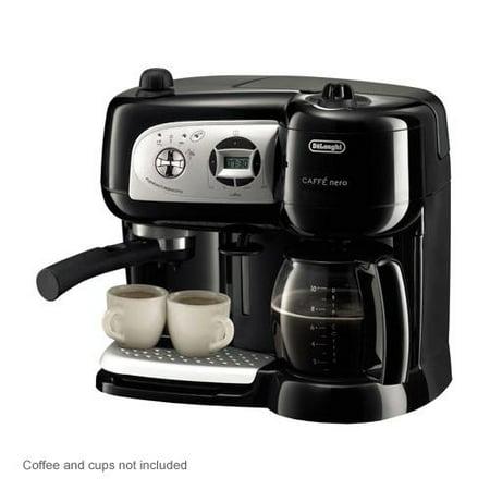 Delonghi Espresso Maker Coffee Pods : DeLonghi BCO264B Coffee and Espresso Maker - 3 in 1 Machine, Pods or Ground Coff - Walmart.com