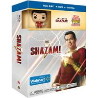 Shazam! (Walmart Exclusive) (Blu-ray + DVD + Digital + Funko Pocket Pop)