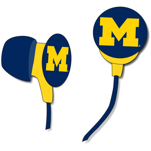 NCAA - Michigan Wolverines Earbuds