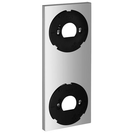 Grohe 40548000 Allure F-digital Decorative Trim Plate for Digital Controller and Diverter, Chrome