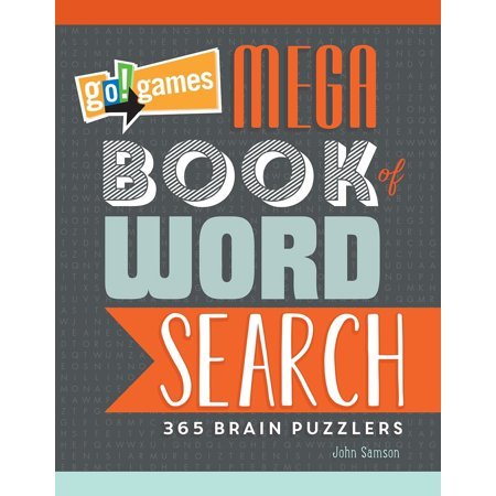 Go!Games Mega Book of Word Search : 365 Brain Puzzlers - Word Search Games Halloween
