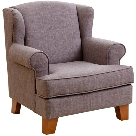 Devon Claire Kids Misty Grey Wing Mini Chair