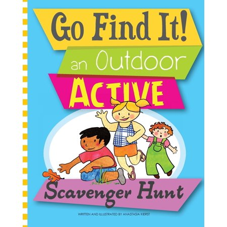 Scary Scavenger Hunt For Halloween (Go Find It! an Outdoor Active Scavenger)