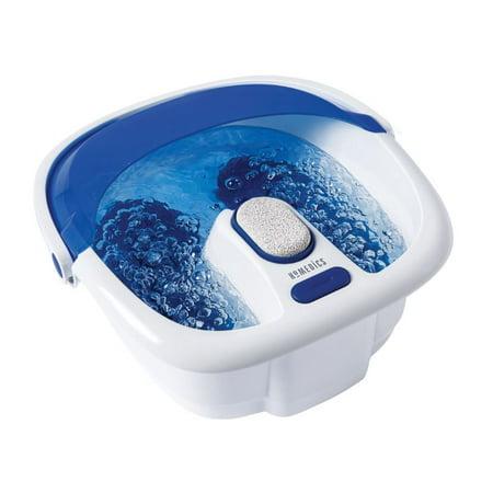 HoMedics Bubble Bliss Elite Footbath with Heat Boost Power, FB-380HJ 1pk