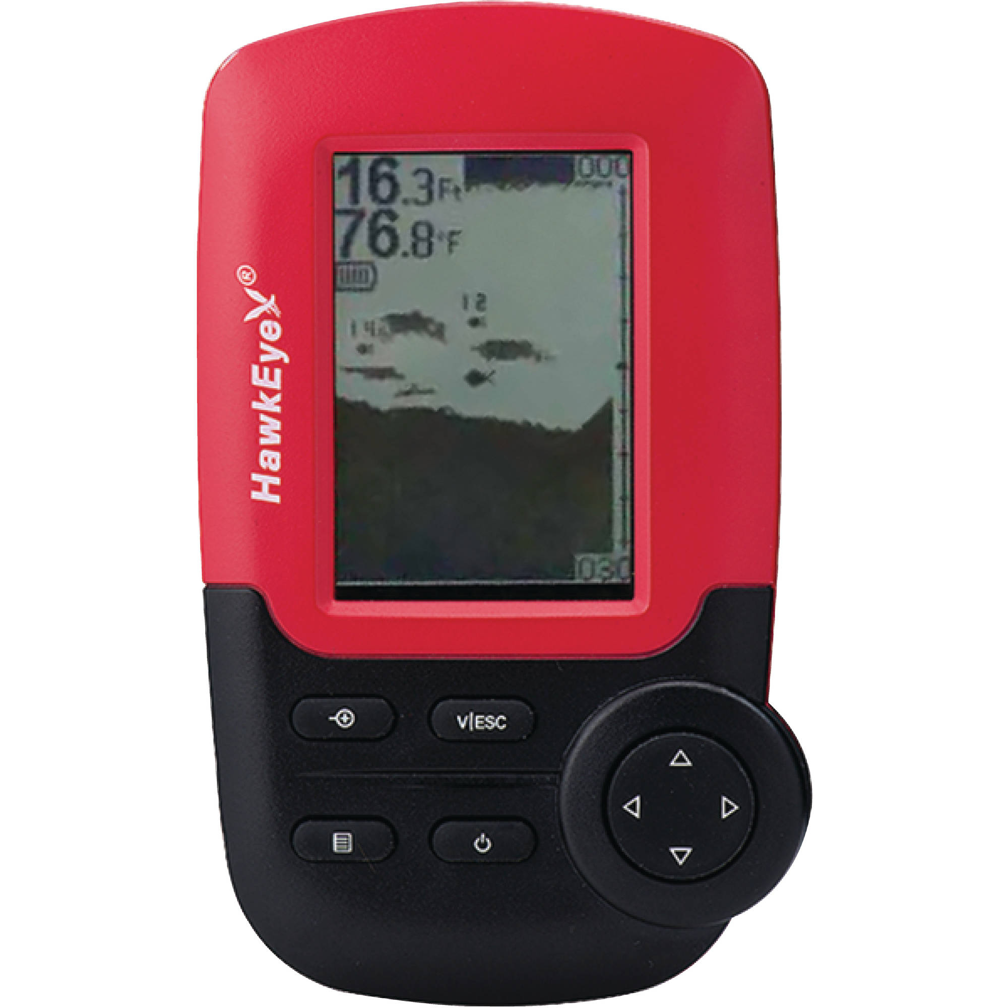 Hawkeye fish finder for Fish finder walmart