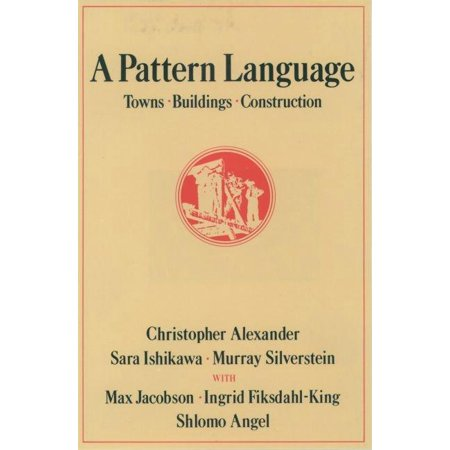 A Pattern Language (Hardcover)