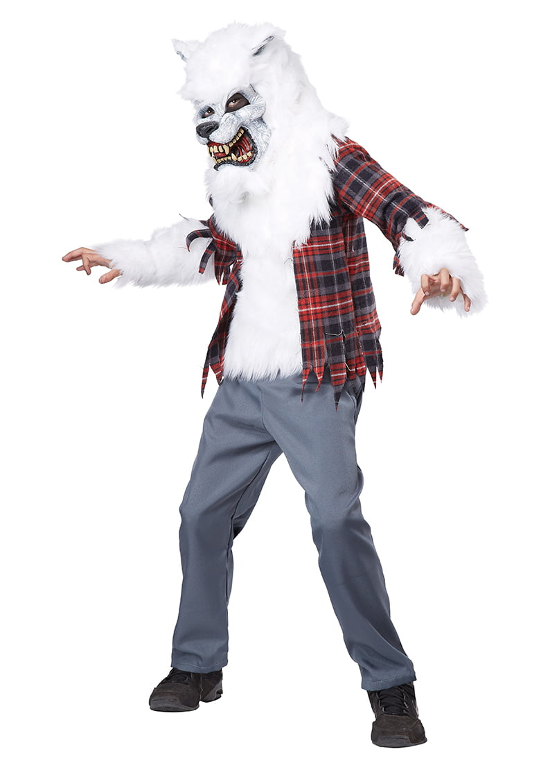 Child Boy White Werewolf Costume by California Costumes 00465 Extra Large - Walmart.com  sc 1 st  Walmart & Child Boy White Werewolf Costume by California Costumes 00465 Extra ...