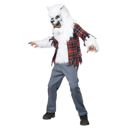 Child Boy White Werewolf Costume by California Costumes 00465