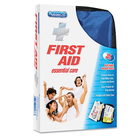 Physicianscare By First Aid Only Soft Sided First Aid Kit For Up To 25 People  195 Pieces Kit