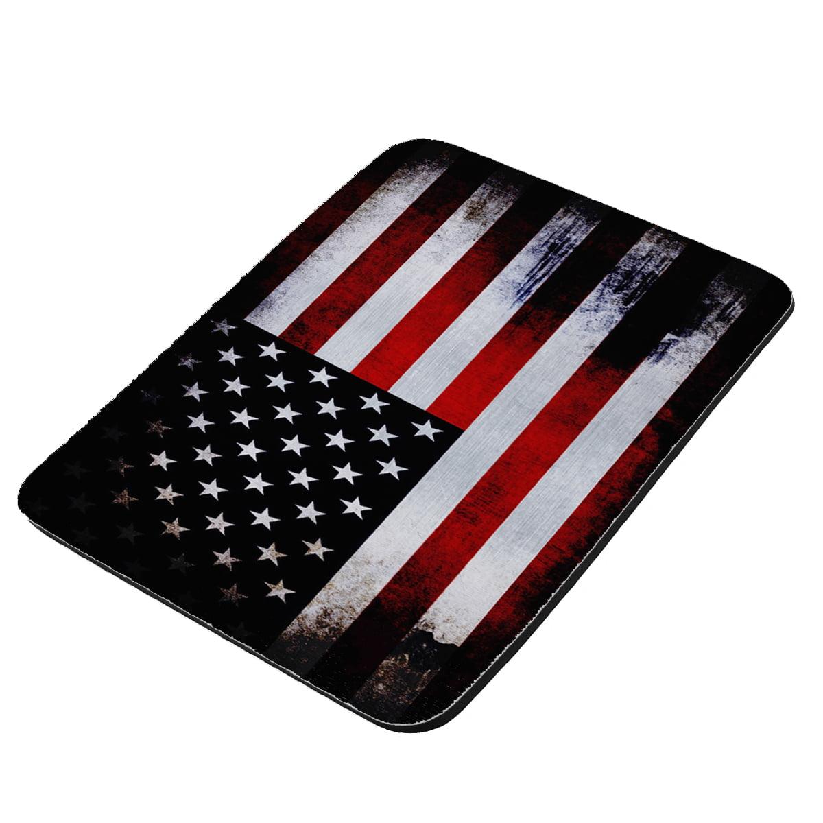 American Flag - KuzmarK Mousepad / Hot Pad / Trivet