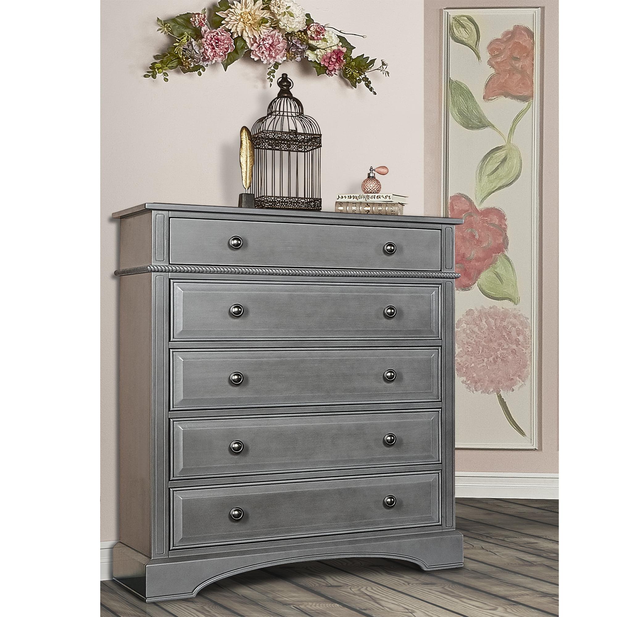 Evolur 5 Drawer Dresser, Choose Your Finish by Evolur