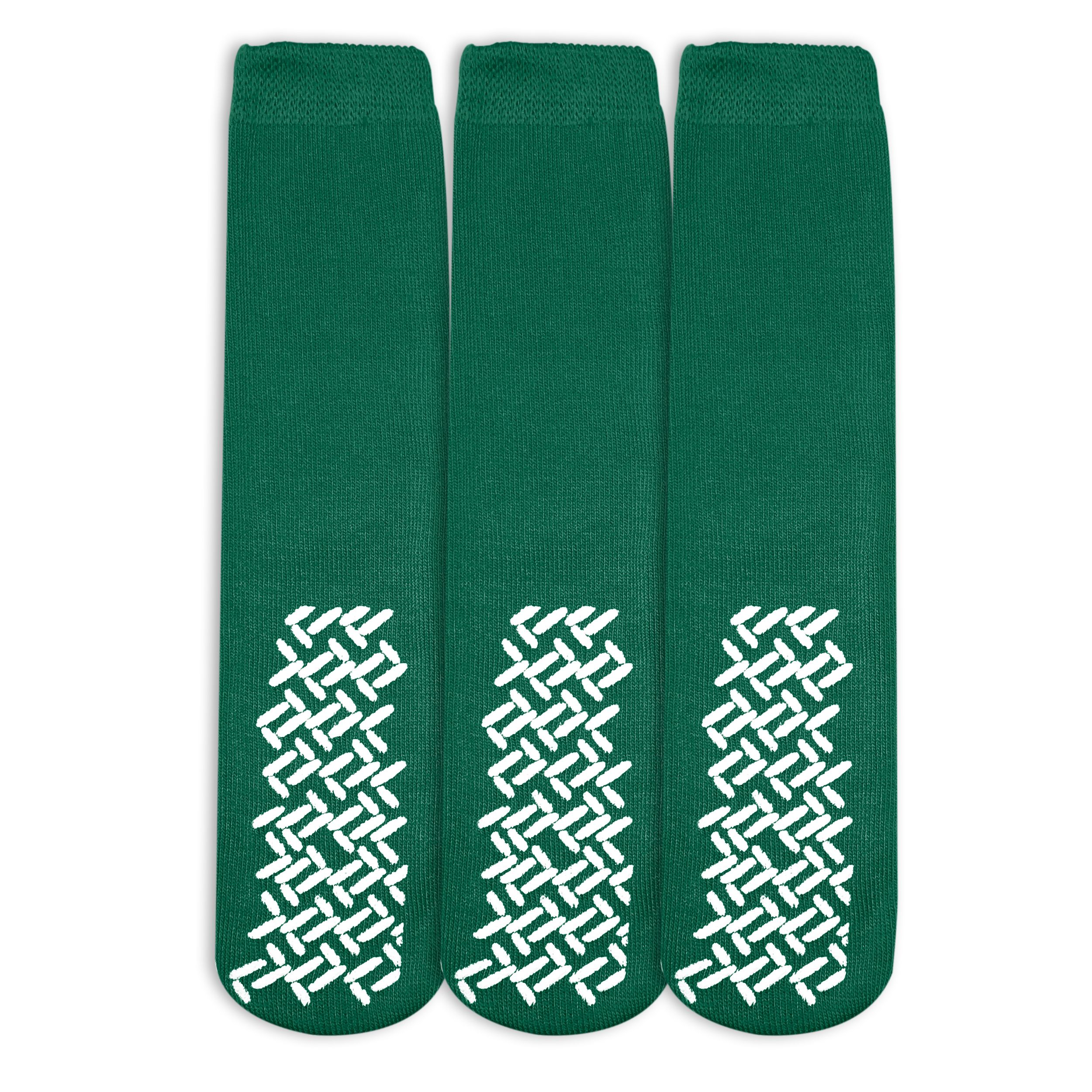 Nobles Assorted Anti Skid/ No Slip Hospital Gripper Socks, Great for adults, men, women. Designed for medical hospital patients but great for everyone (3 Pairs Black)