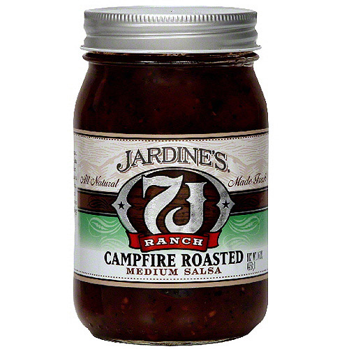 7J Ranch Campfire Roasted Medium Salsa, 16 oz (Pack of 6)