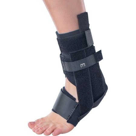 how to put on donjoy ankle brace