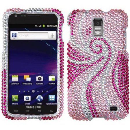 Samsung I727 Galaxy S II Skyrocket MyBat Protector Case, Phoenix Tail Diamante