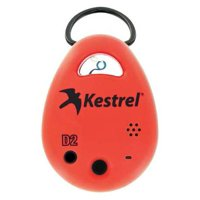 KESTREL 0720RED Data Logger,Temperature and RH,Red