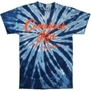 Comeback Kid Men's  Script Tie Dye T-shirt Multi