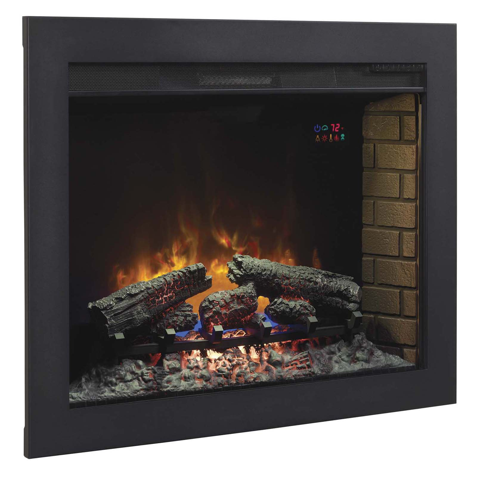 """Click here to buy *DNP*33"""" Flush-Mount Trim Kit for use with In-Wall Electric Fireplace Insert by Twin-Star International."""
