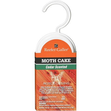 Reefer-Galler Cedar Scented Moth Cakes 3 Oz 2 Counr