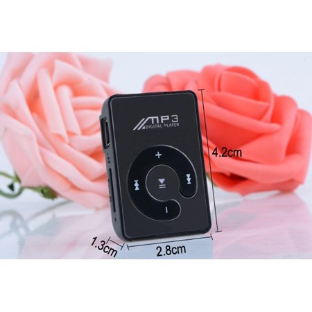 - Fashion Mini MP3 Music Player  Portable  Clip Digital MP3 Audio Player Margot