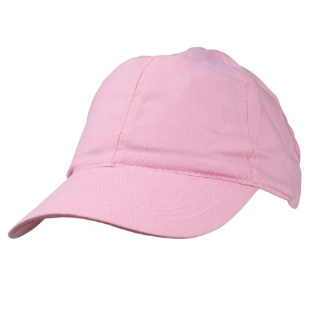 DALIX Ladies Ponytail Cap Half Visor with Adjustable Elastic Bandin Pink