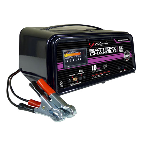 10 Amp Deep Cycle Charger 12/24 Volt