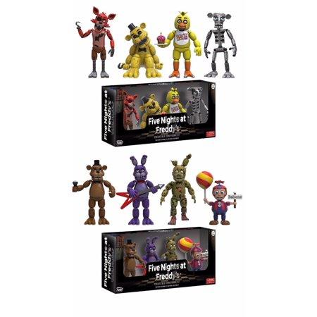 Five Nights At Freddys Set Of 2 Mini 2   Figure 2 Pack