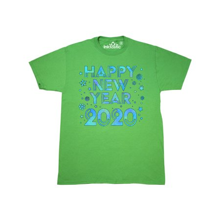 Happy New Year 2019 Blue Sparkles T-Shirt