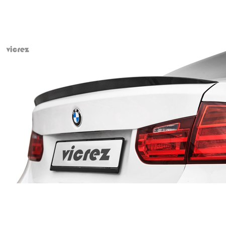 Vicrez BMW 3 Series F30 2013-2017 VZ Carbon Fiber Rear Wing Spoiler