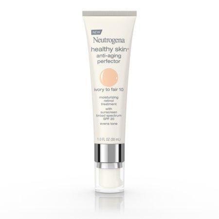- Neutrogena Healthy Skin Anti-Aging Perfector Spf 20, Retinol Treatment, 10 Ivory Fair, 1 Fl. Oz.
