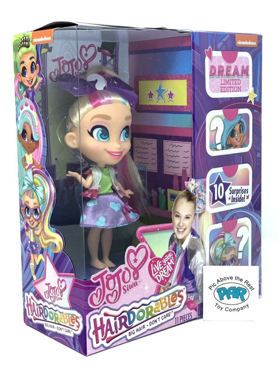 Hairdorables JoJo Siwa Limited Edition D.R.E.A.M Doll Style B 10 Surprises New