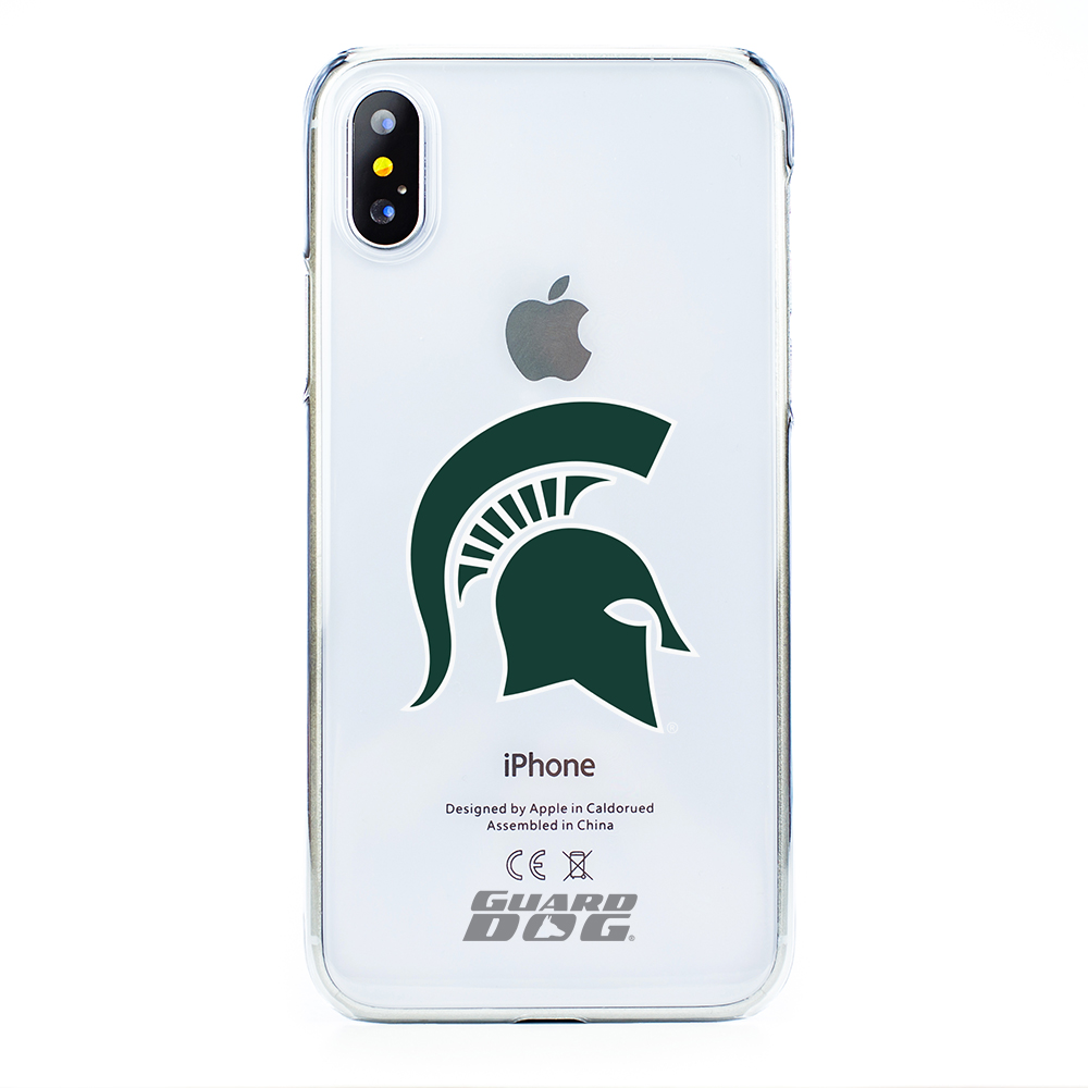 Michigan State Spartans Clear Case for iPhone X / Xs