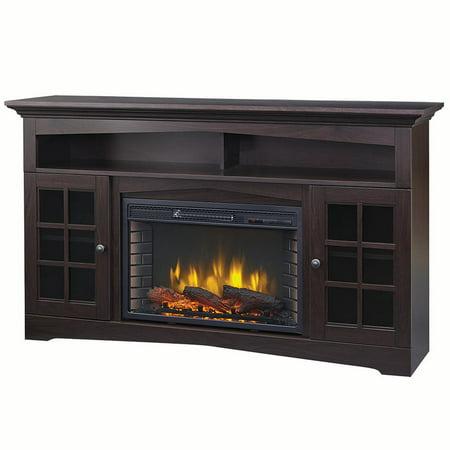 """Muskoka 370-196-48-KIT Huntley 59"""" Media Electric Fireplace -Espresso"""