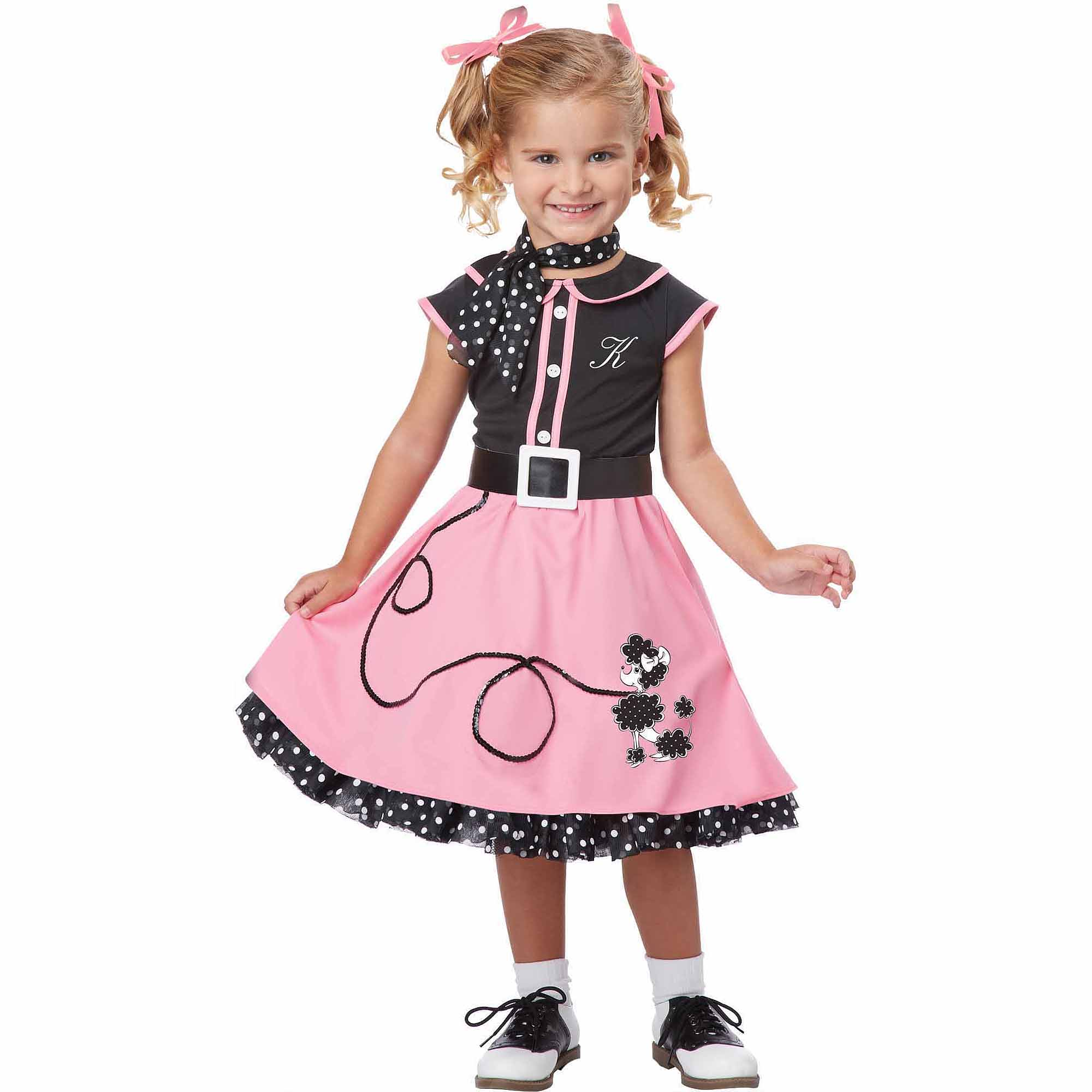 Poodle Cutie Child Halloween Costume