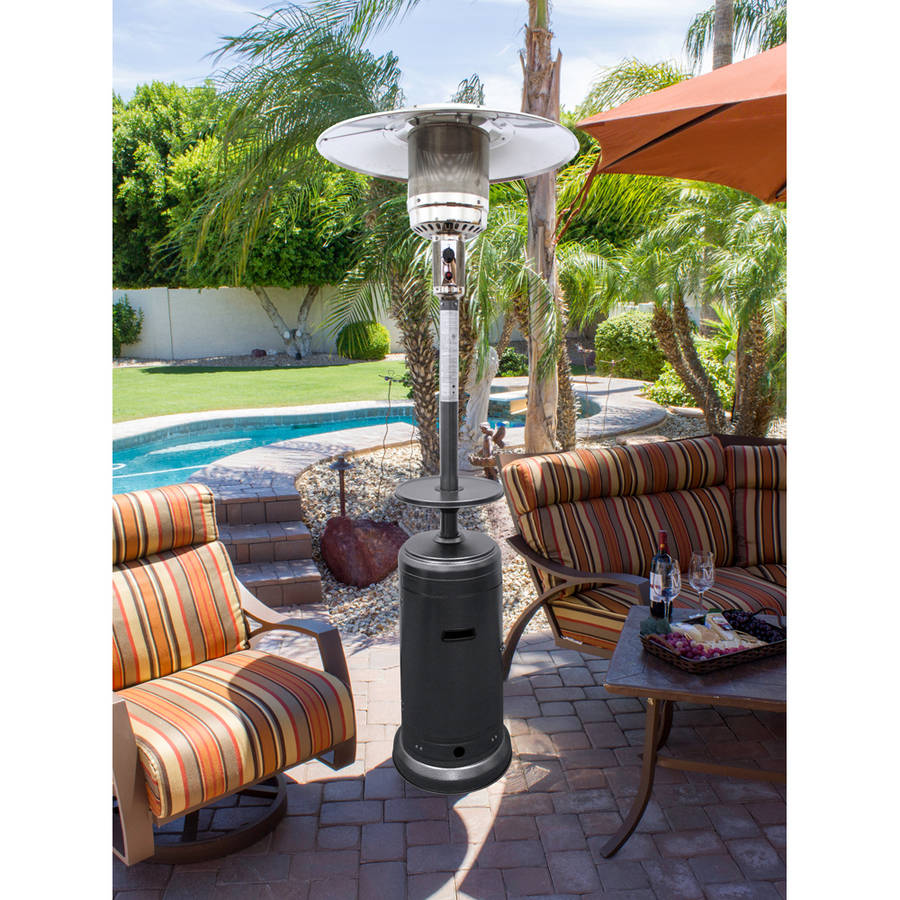 AZ Patio Heaters Outdoor Patio Heater in Hammered Silver by AZ Patio Heaters