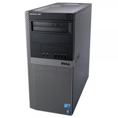 Dell Optiplex 980 MT Computer - Inter Core i5-60 @ 3.33 GHz, 8GB DDR3 Ram, 1 TB HDD, DVD Rom , Windows 7 Pro 64 bit -