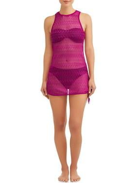 9cb32c5198 Product Image Women's Crochet Tank Cover-Up