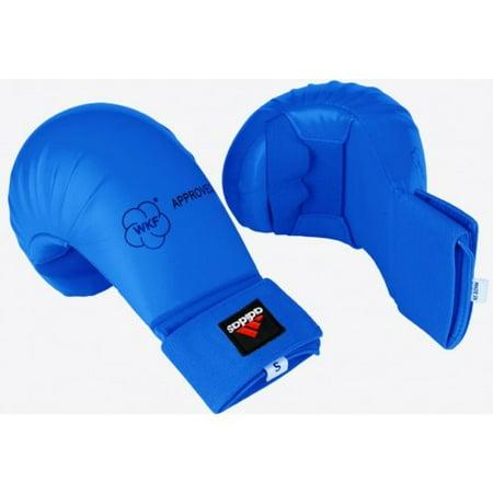 adidas Karate WKF Gloves, Blue