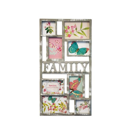 Grey Family Collage Photo Frame (Lot of 6) - Walmart.com