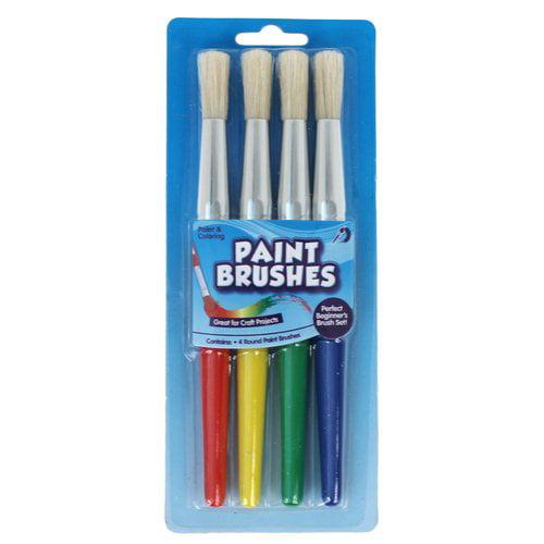 KIDS CRAFT Paint Brush, 4pk
