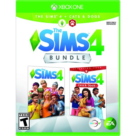 SIMS 4: Cats & Dogs Bundle, Electronic Arts, Xbox One,