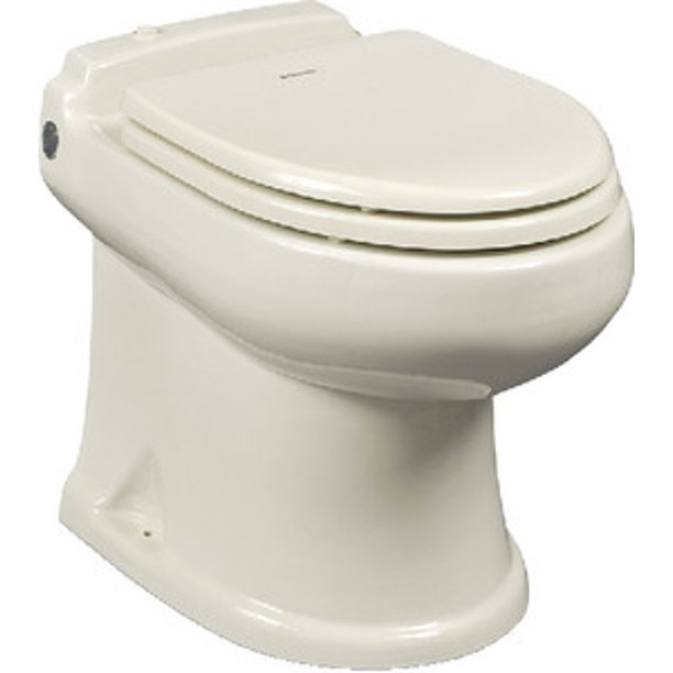 New 8700 Series Masterflush Electric Toilets W Macerator Sealand 304874003 Model 8740 Bone 12v Walmart Com Walmart Com