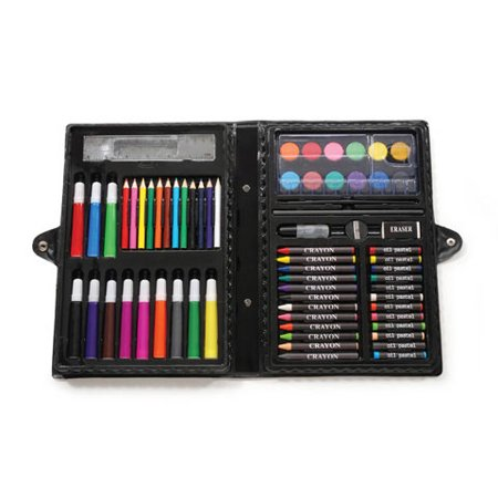 Darice Art Set in Portable Plastic Case, 68 Pieces - Gift Ideas For 12 Year Old Girls