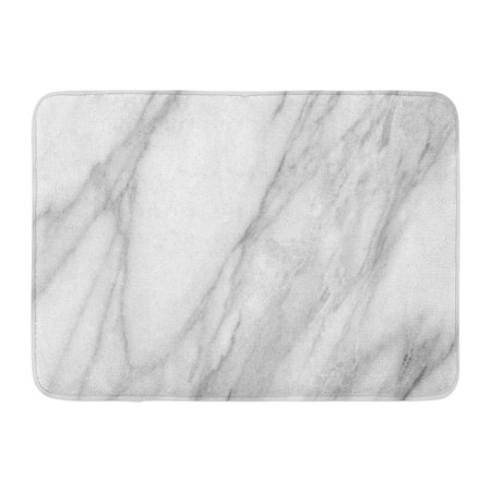 GODPOK Artistic Black Antique Abstract White Marble High Resolution Gray Architecture Beautiful Rug Doormat Bath Mat 23.6x15.7 inch
