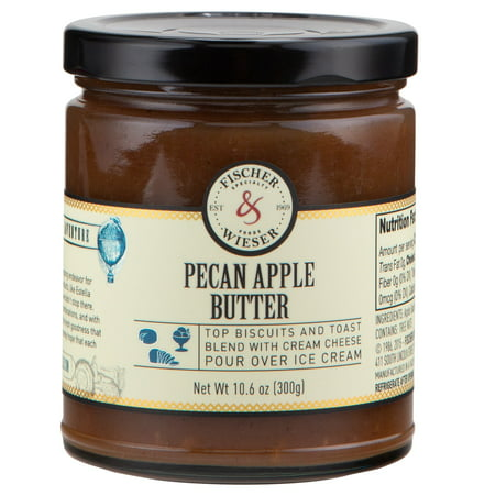 Fischer and Wieser Pecan Apple Butter 10.9oz