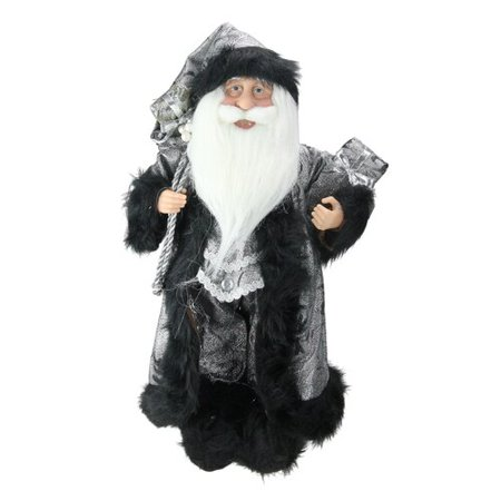 Northlight Seasonal Standing Santa Claus with Gifts Christmas Figure ()