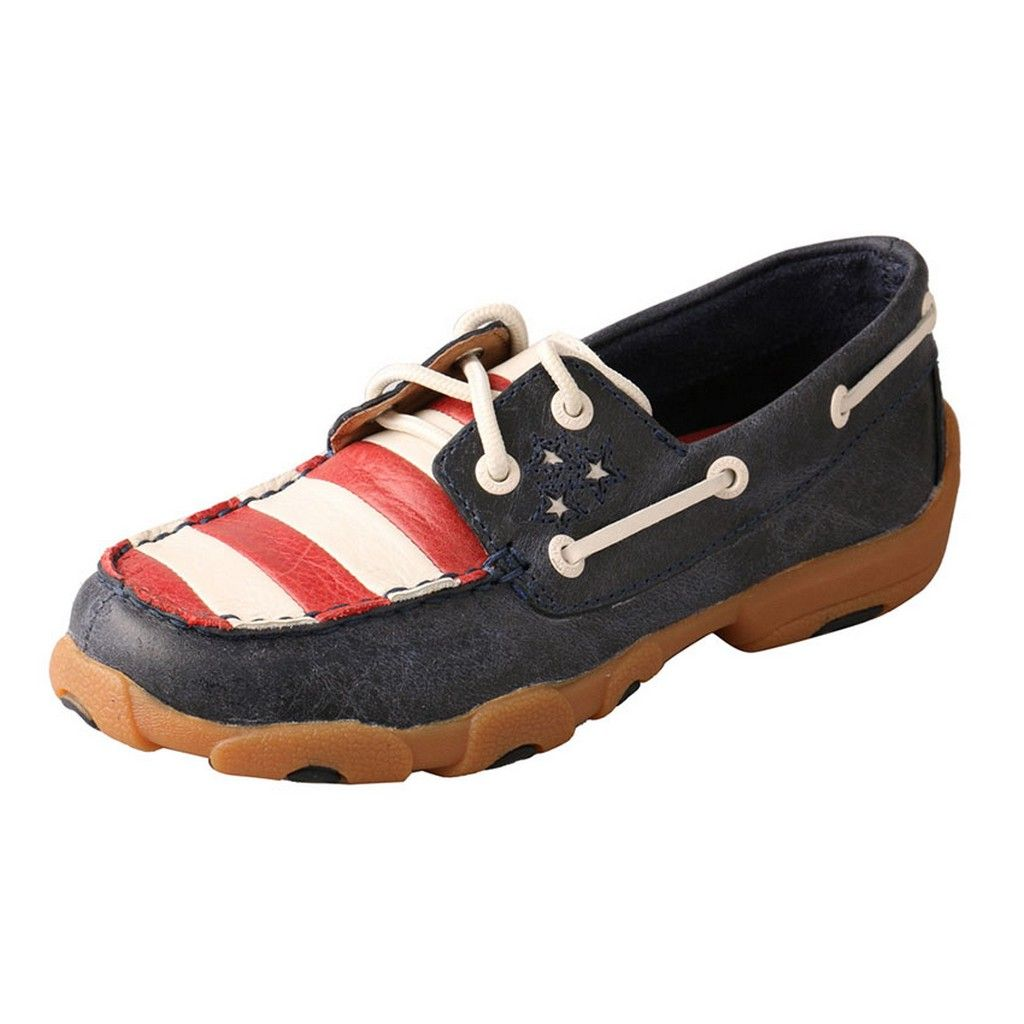 twisted x casual shoes boys driving moc blue