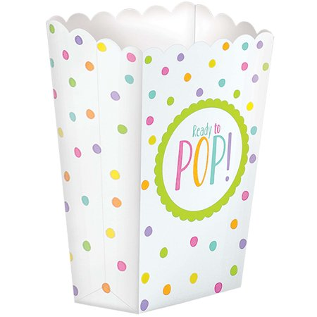 Ready To Pop Baby Shower Favor Popcorn Boxes 20 Count Walmart