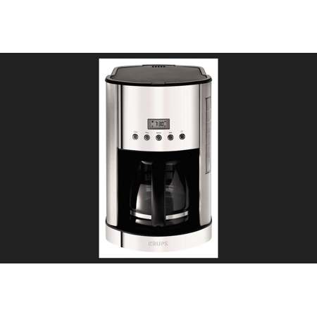 Krups 12 Cup Glass Carafe Coffee Maker KM730D50