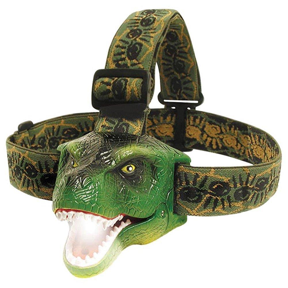DinoBryte LED Headlamp - T-Rex Headlamp for Kids